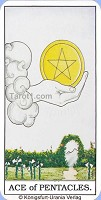 As of Pentacles Tarot card meaning
