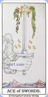 As of Swords Tarot card meaning