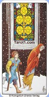 Five of Pentacles Tarot card meaning