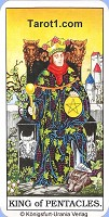 King of Pentacles Tarot card meaning