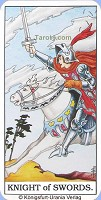Knight of Swords Tarot card meaning