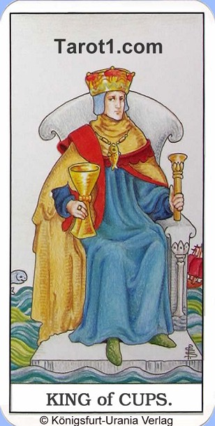 Tomorrow's Taurus Horoscope King of Cups