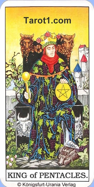Today's Aries Horoscope King of Pentacles