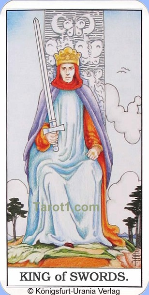 Meaning of King of Swords from Rider Waite Tarot