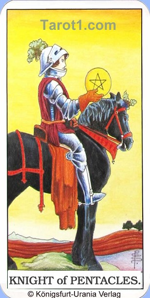Today's Taurus Horoscope Knight of Pentacles
