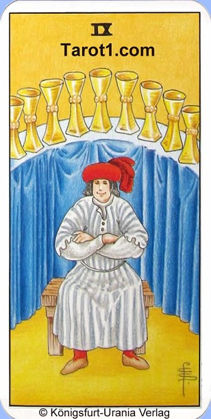 Today's Aries Horoscope Nine of Cups