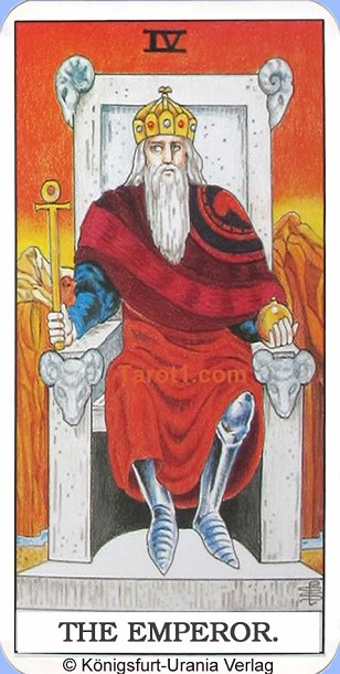 Meaning of the Emperor from Rider Waite Tarot