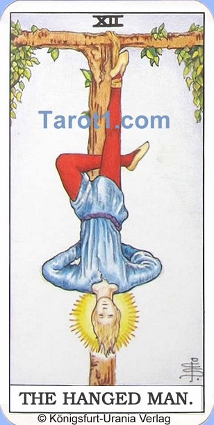Tomorrow's Aries Horoscope the Hanged Man