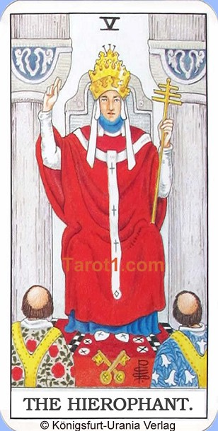 Tomorrow's Taurus Horoscope the Hierophant