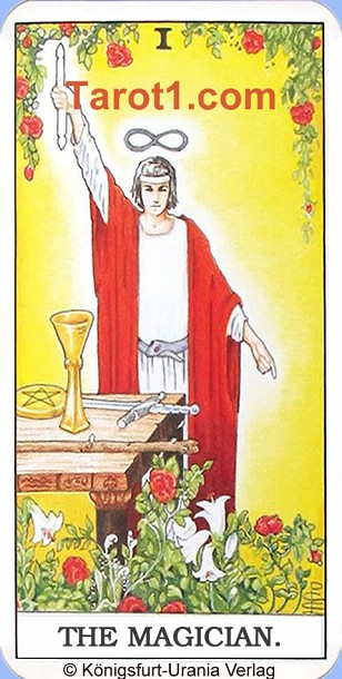 Meaning of the Magician from Rider Waite Tarot