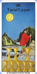 March 12th horoscope Eight of Cups