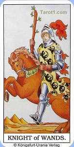 May 29th horoscope Knight of Wands