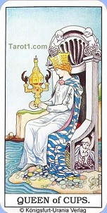 March 28th horoscope Queen of Cups