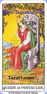 July 1st horoscope Queen of Pentacles