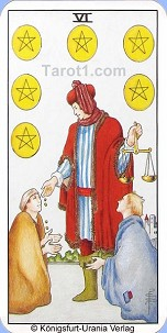 May 9th horoscope Six of Pentacles
