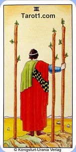January 3rd horoscope Three of Wands