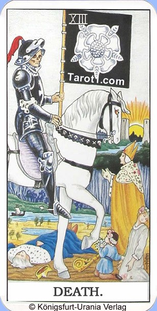 Meaning of Death from Rider Waite Tarot